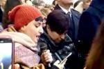 Arisa canta ai funerali delle vittime del Rigopiano, fonte Ansa