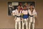 Taekwondo, nuovo trionfo palermitano ai campionati italiani senior