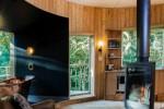 Con sauna e idromassaggio, la casa sull'albero è a tutto lusso