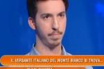 """""""Dove si trova il Monte Bianco? In Sardegna"""", la gaffe del concorrente lascia tutti senza parole - Video"""