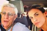 Elisabetta Canalis, muore il padre: sui social il commovente ricordo