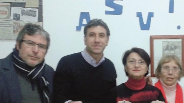 gelo, solidarietà, volontari, Trapani, Cronaca