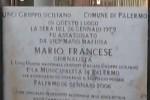 A Palermo l'omaggio al giornalista Mario Francese
