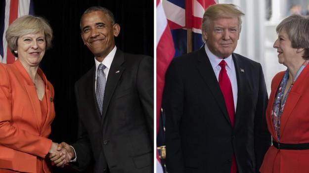 abito, vertice, Barack Obama, Donald Trump, Theresa May, Sicilia, Società