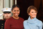 Regalo Tiffany per Michelle, stile Jackie Kennedy per Melania: a tutta eleganza l'inauguration day delle due first lady