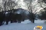 A Piano Battaglia il tapis roulant: si torna a sciare