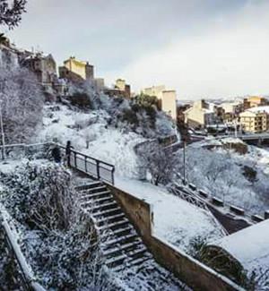 Risarcimenti a molti comune di provincia di Enna per le nevicate invernali