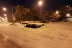 Troina isolata, oltre un metro di neve a Nicosia