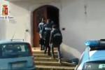 Il blitz a Palermo, le immagini della villa sequestrata - Video