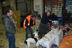 Metronotte a Palermo in soccorso dei senzatetto: le foto