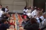 Palermo, servito in Cattedrale un pranzo per 250 poveri
