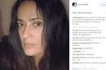 Salma Hayek, il selfie senza trucco fa incetta di like