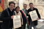 Cittadinanza a Ficarra e Picone, la consegna a Termini Imerese