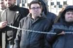 La protesta degli alunni disabili a Palermo