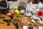 Armi, munizioni e droga scoperti in uno scantinato a Catania