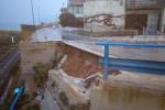 Maltempo sulla Sicilia: frane e allagamenti, scuole chiuse, fulmine in centro a Sciacca