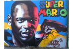 A Nizza è Balotelli-mania: SuperMario diventa un murale