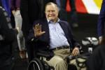 Bush senior in terapia intensiva, ricoverata anche la moglie Barbara