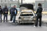 Cadavere carbonizzato a Palermo, le immagini da via Nina Siciliana - Video