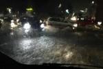 Esonda il torrente Forcile, allagata la zona industriale di Catania