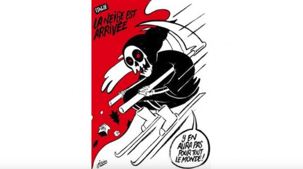 Charlie Hebdo, hotel rigopiano, Sicilia, Mondo