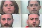 Truffe e rapine in casa agli anziani: nomi e foto dei quattro arrestati
