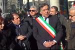 La commemorazione in viale Campania a Palermo