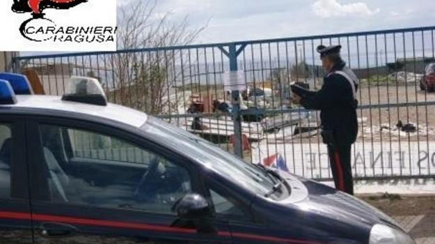 carabinieri, discarica abusiva, Marina di Ragusa, Ragusa, Cronaca