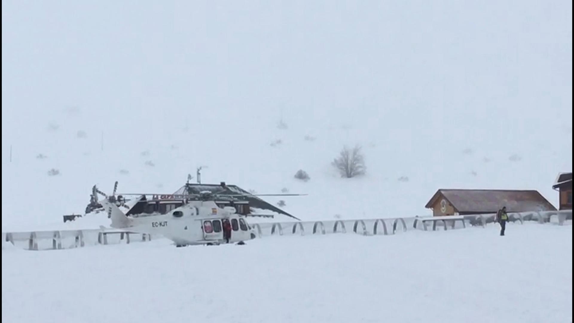 Elicottero 118 : Monte amiata le foto del training del grosseto foto