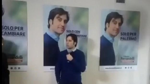 amministrative a palermo, elezioni comunali a palermo, rete civica nazionale, Fabrizio Ferrandelli, Palermo, Politica