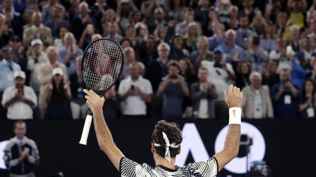 australian open, Roger Federer, Sicilia, Sport
