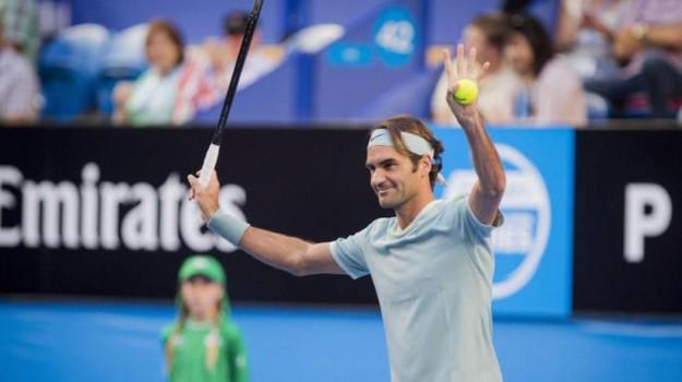 Roger Federer, Sicilia, Sport