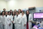 Lo staff del Laboratorio di diagnostica oncoematologica dell'Ospedale Cervello - Ufficio stampa