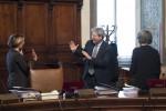 Gentiloni in Consiglio dei ministri, dopo le dimissioni dal Gemelli
