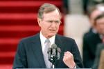 L'ex presidente americano George Herbert Bush ricoverato a Houston