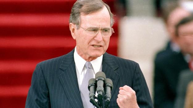 Stati Uniti, USA, George H.W. Bush, Sicilia, Mondo