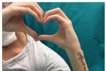 """Sfregiata con acido, Gessica pubblica foto dall'ospedale: """"Grazie di cuore"""""""