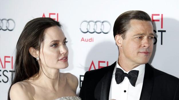 attori, divorzio, Angelina Jolie, Brad Pitt, Sicilia, Società