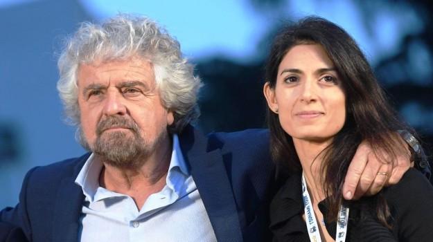 m5s, Beppe Grillo, Virginia Raggi, Sicilia, Politica