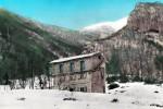 Una foto storica del Rigopiano quando era soltanto un rifugio