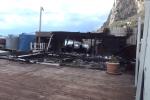 Incendio lido a Sferracavallo, potrebbe essere doloso - Video