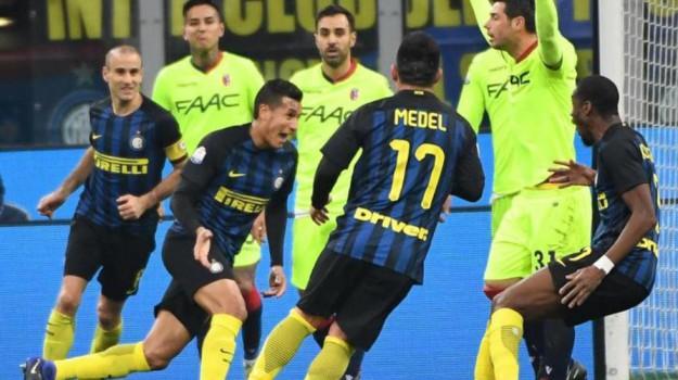 Calcio, coppa italia, inter-bologna, SERIE A, Sicilia, Sport