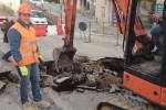 Danni del maltempo, primi lavori a Sciacca