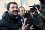 """Salvini: """"Primarie ad aprile. Presto per Berlusconi? Indichi altri esponenti"""""""