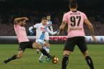 Napoli-Palermo 1-1. Papera di Posavec, Mertens pareggia: segui la diretta della partita