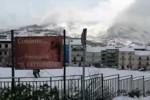 Due gradi sotto zero, bufera di neve tra Ciminna e Ventimiglia - Video