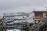 Ancora neve e disagi sulle strade in Sicilia: le immagini da San Giuseppe Jato