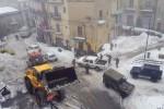 Scuole chiuse e ghiaccio in strada, il gelo non dà tregua nell'Ennese e sui Nebrodi