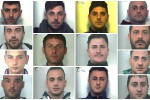 La droga di Messina controllata dalla mafia catanese, nomi e foto degli arrestati