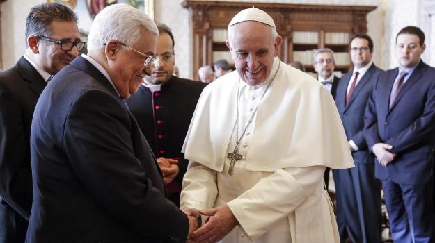 palestina, vaticano, Papa Francesco, Sicilia, Cronaca, Mondo